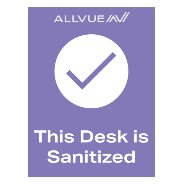 This Desk is Sanitized (US Version)